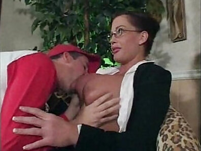 Mature student gets banged by her teacher