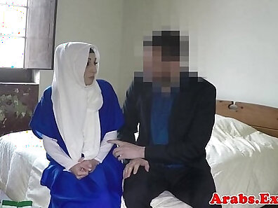 Arab wants honey now and tight ass hijab girl Stone Age