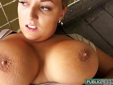 Carla Garcia Sucks And Public Mouth Cumshot