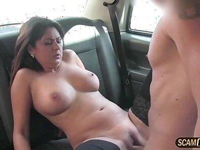 Brunette Big Tit MILF Scout Doing Revenge And Cum Shot To Backshots