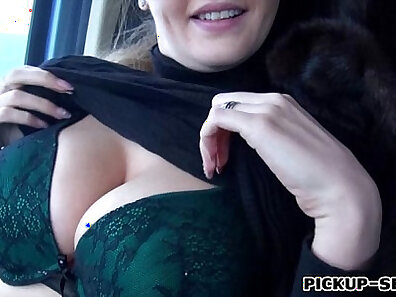 Busty czech amateur playing with her pussy