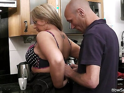 Cheating Bride To Be Masturbated In The Kitchen