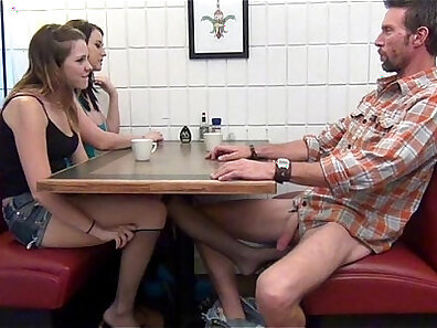 Beauty daughter gives footjob to PrimeCups daddy