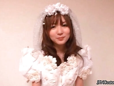 Stunning Japanese Girl in Inked Uniform Receiving Her Slutty Pleasure