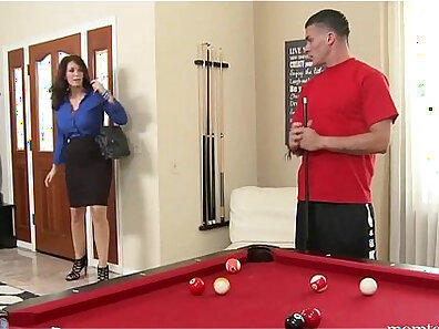 Mom teaches my son how to suck cock and fuck a man