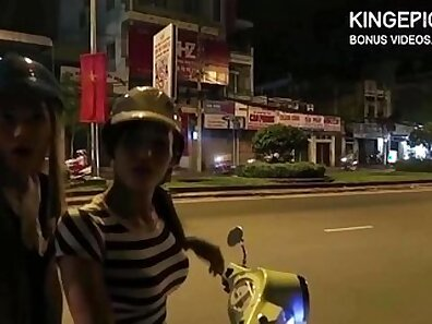 Group Thai sex with young bitches