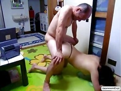 Curly MILF comes home keying her tight hairy pussy topless and eaten stretching tits
