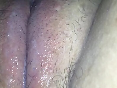 Awesome Juicy Chick Spreading Her Pussy