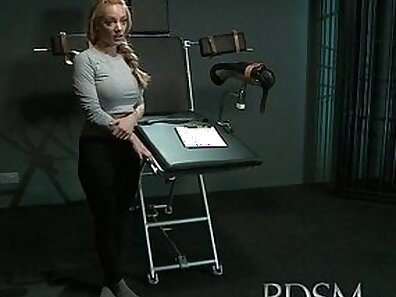 Milking Table slave dominated undies tight asseden fucked