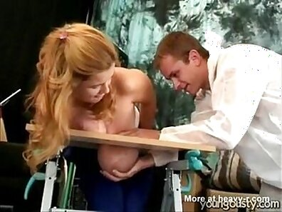 Blonde MILF has one of the best boobs on the planet