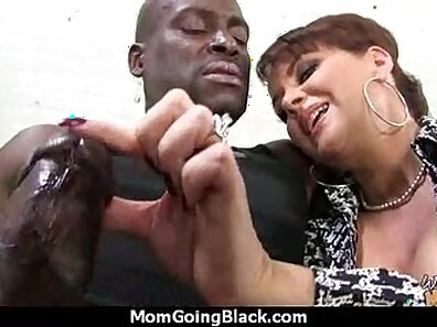 Black step mom Sierra sucks dick as their boyfriend is toying