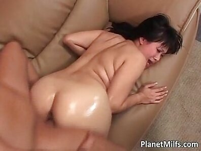 Curvy Big Tit Milf Teases and Stroke Her Cock for Her hubbys Taste