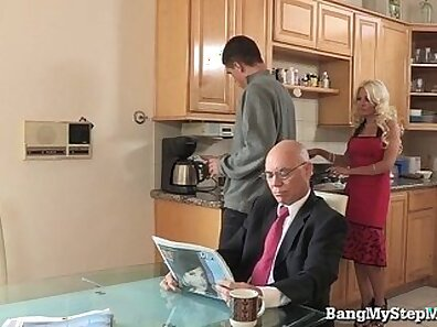 Best wife ever cum 3some