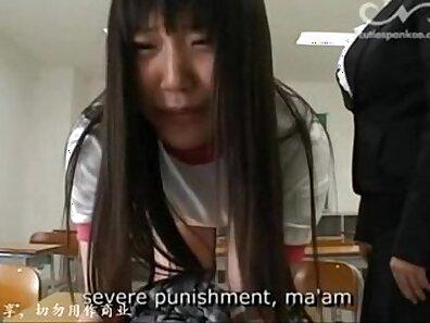 Kinky Japanese teen ejaculates on a hard dick for her teacher