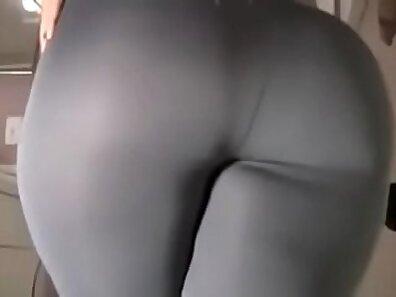 Angel Grey Stomps A Big Dildo Up His Ass