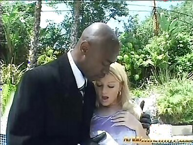 Blonde sucks and fucks cock and black girl teen anal double