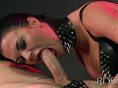 Bondage Mistress Boom Minda Blowjob Alien