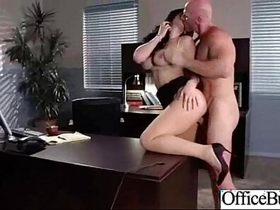 Busty grandpa gets fucked doggystyle in nursing office