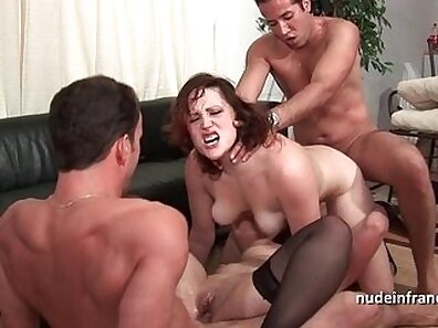 Crazy anal, dp orgy with three dormies