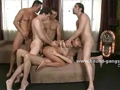 Amazonian copulate with a prostitute in rough gangbang