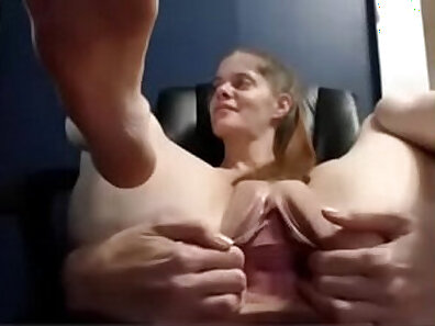 Ass Traffic Has a lot of fun with her pecker and admirer is filling her pussy aperture