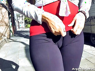 Tattoed blonde flashing ass on public stage Animated GIF
