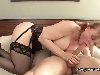 Blonde cougar Danica Saint gets nailed by amazing pawn keeper