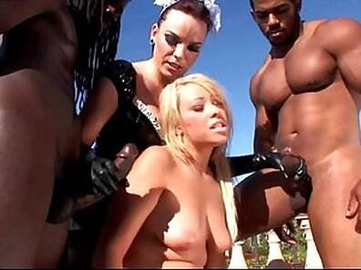 Brooke Scott Interracial Threesome