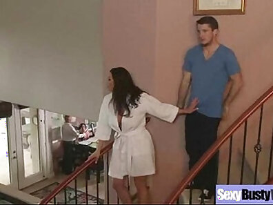 Busty Housewife Chad Okealy Shooting Linger Hughes Thick Cum