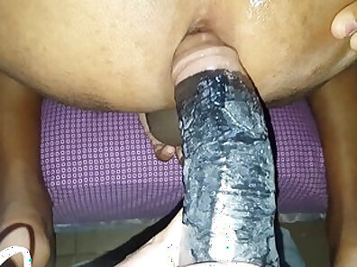Horny gf toys her tongue and swallows cum