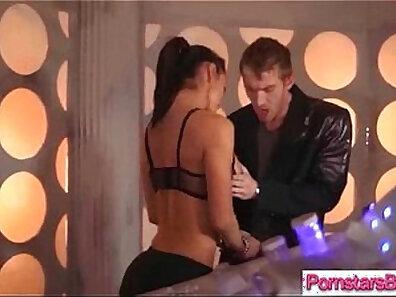 Big cock wanked off by mature pornstar