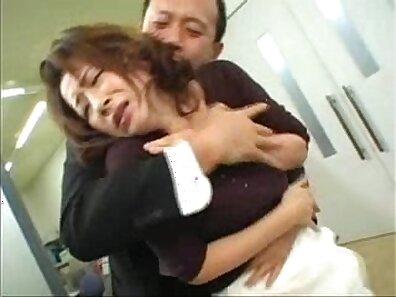 Beautiful asian horny guy happily fucks flexible ginger babe
