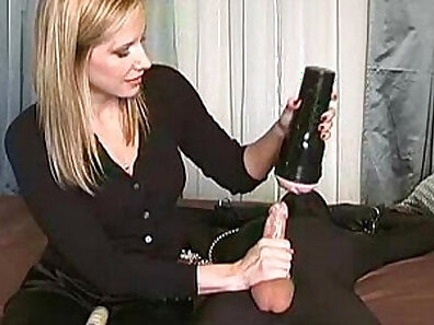 Big Booby Mistress Makes Her Slave